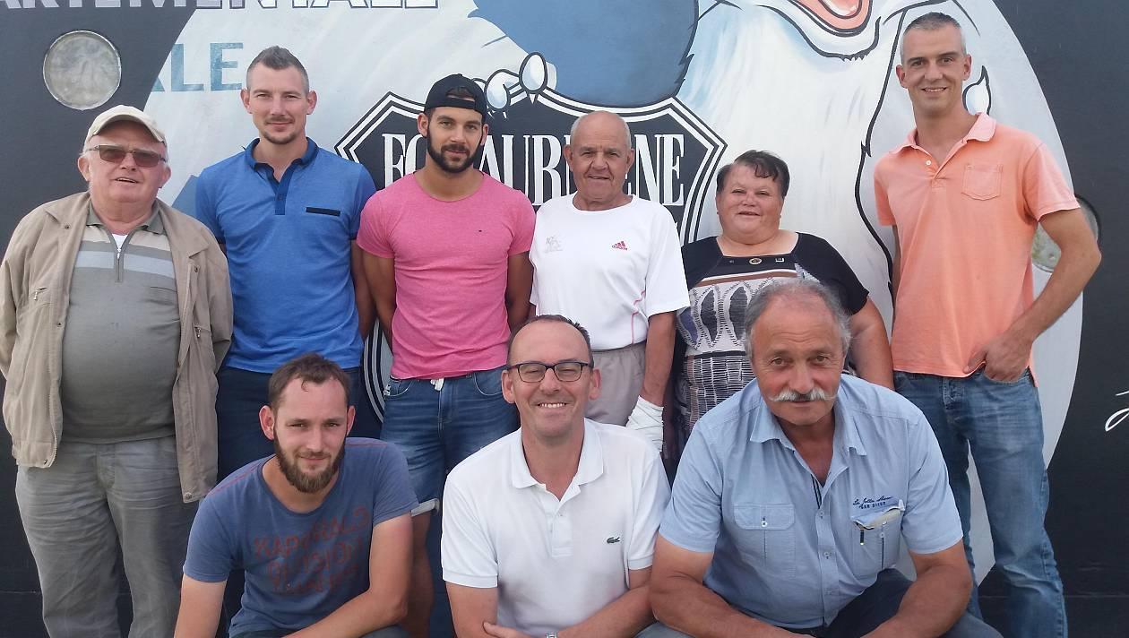 Les membres du conseil d'administration de Laurmené.